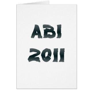 ABI 2011 CARD