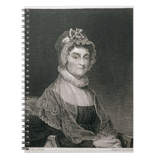 Abigail Adams, engraved by G.F. Storm (fl.c.1834) Notebook