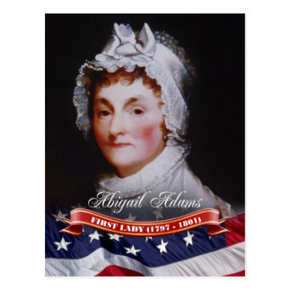 Abigail Adams, First Lady of the U.S. Postcard