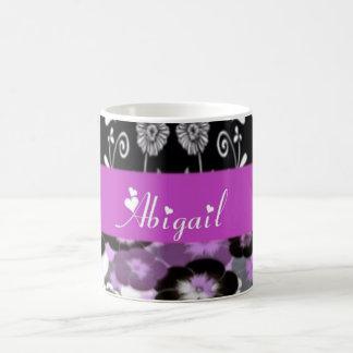 abigail floral coffee mug