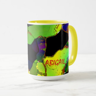 Abigail Full Color Tea Mugs