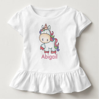 Abigail's Personalized Unicorn Gifts Toddler T-Shirt