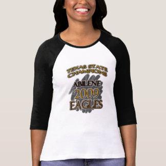 Abilene High School Eagles 2009 Texas Champions! T-Shirt