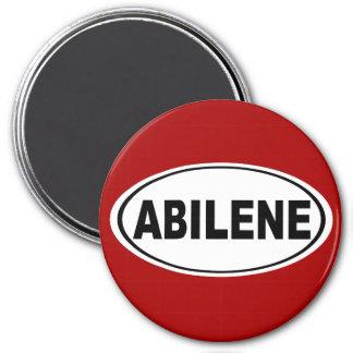 Abilene Texas 7.5 Cm Round Magnet