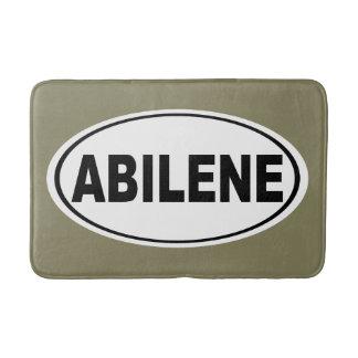 Abilene Texas Bath Mat