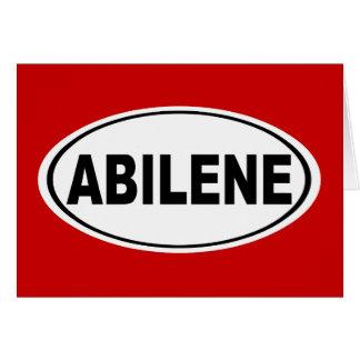 Abilene Texas Card