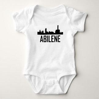 Abilene Texas City Skyline Baby Bodysuit