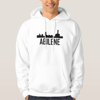 Abilene Texas City Skyline Hoodie