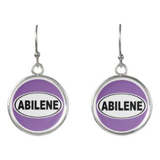 Abilene Texas Earrings