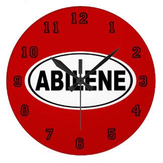 Abilene Texas Large Clock