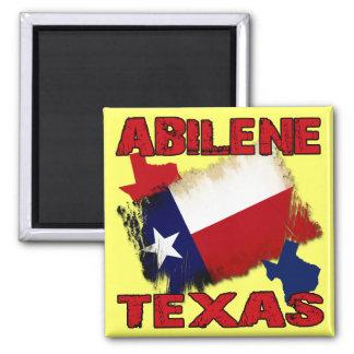 Abilene, Texas Square Magnet