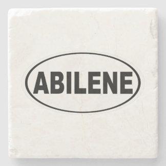 Abilene Texas Stone Beverage Coaster