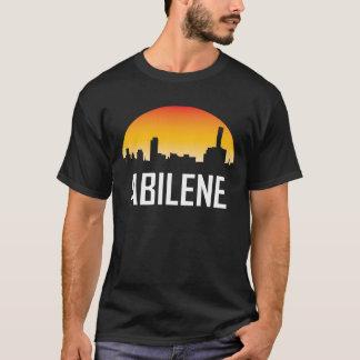 Abilene Texas Sunset Skyline T-Shirt