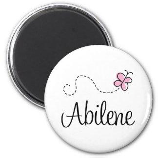 Abilene Texas T-shirt 6 Cm Round Magnet