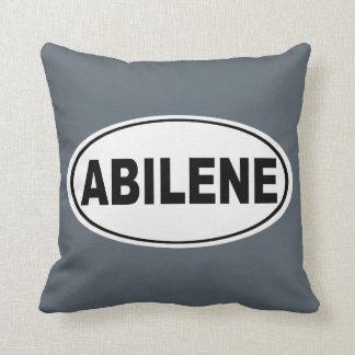 Abilene Texas Throw Pillow