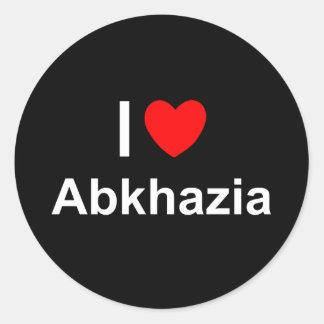 Abkhazia Classic Round Sticker