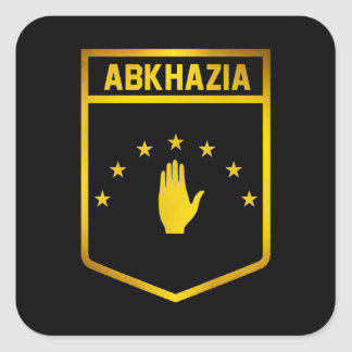 Abkhazia Emblem Square Sticker