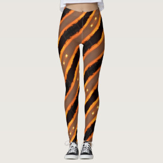 ABL - 107 - Dusk Stripes - Leggings