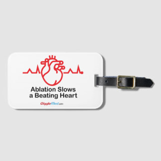 Ablation Slows a Beating Heart Luggage Tag