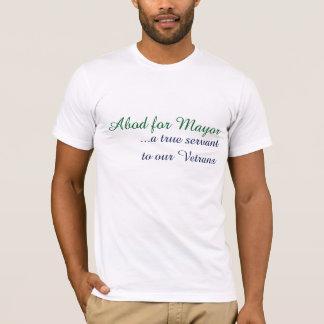 Abod for Mayor-DSM-01wbg T-Shirt