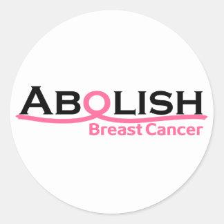 Abolish Cancer Stickers