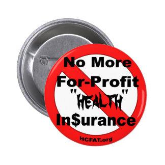 Abolish For-Profit Health Insurance 6 Cm Round Badge