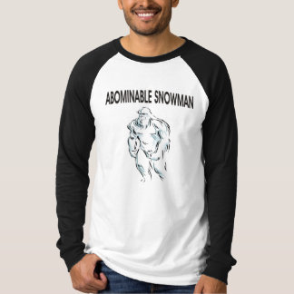 ABOMINABLE SNOWMAN T SHIRTS