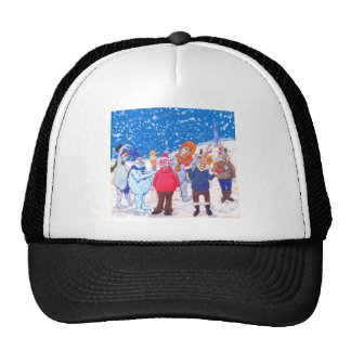 abominable Snowmen of Pluto and Space Cows Trucker Hat