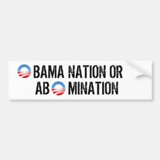 Abomination Bumper Sticker