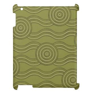 Aboriginal art bush cover for the iPad 2 3 4