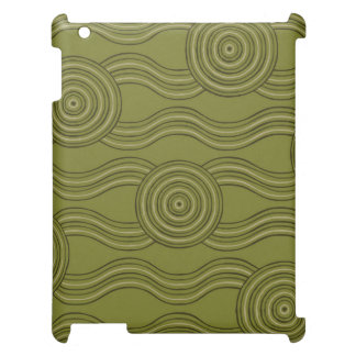 Aboriginal art bush iPad case