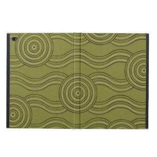 Aboriginal art bush powis iPad air 2 case