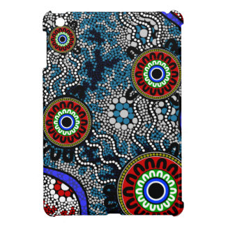 Aboriginal Art - Camping iPad Mini Case