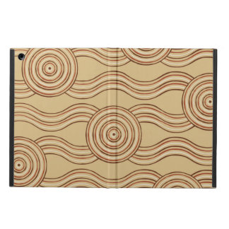 Aboriginal art earth iPad air cases