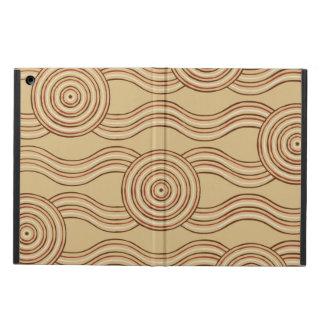 Aboriginal art earth iPad air cover