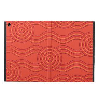 Aboriginal art fire case for iPad air