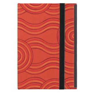 Aboriginal art fire case for iPad mini