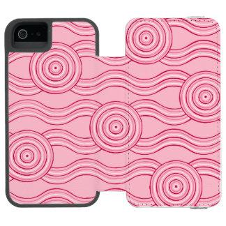 Aboriginal art gumnut blossoms incipio watson™ iPhone 5 wallet case