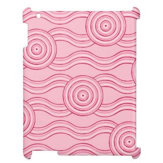 Aboriginal art gumnut blossoms iPad covers