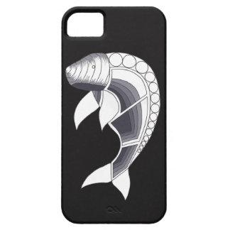 Aboriginal Art iPhone Case - Dugong