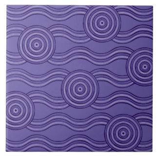 Aboriginal art melaleuca tile