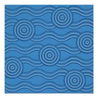 Aboriginal art ocean