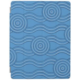 Aboriginal art ocean iPad cover