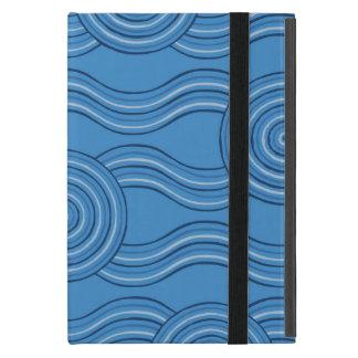 Aboriginal art ocean iPad mini cases