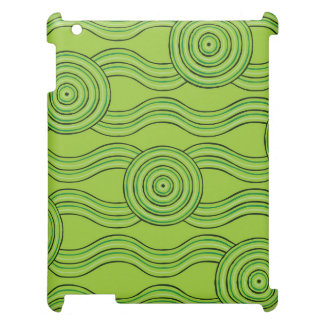 Aboriginal art rainforest case for the iPad