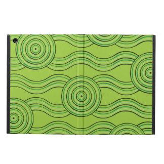 Aboriginal art rainforest cover for iPad air