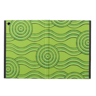 Aboriginal art rainforest iPad air cover