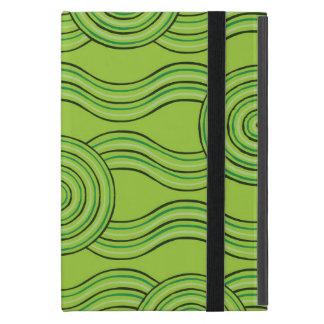 Aboriginal art rainforest iPad mini cover