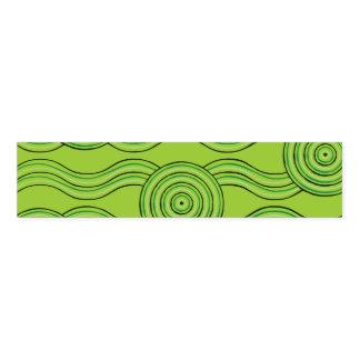 Aboriginal art rainforest napkin band