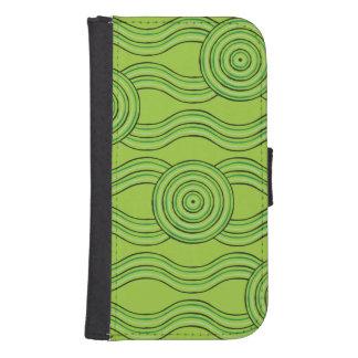 Aboriginal art rainforest samsung s4 wallet case